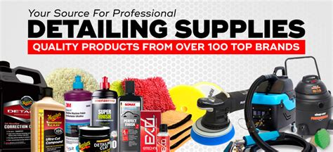 Boat Detailing Green Bay by Auto Detailing Supplies Chemicals Equipment Accessories