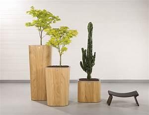 Fleur En Bois : inisia pots de fleur r serve d 39 eau en bois blog de ~ Dallasstarsshop.com Idées de Décoration