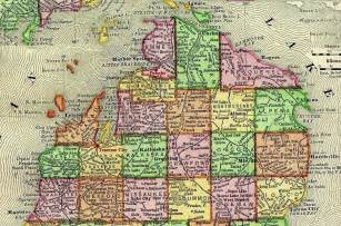 Northern Michigan Cities Map