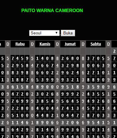 paito warna harian hk  angkanet
