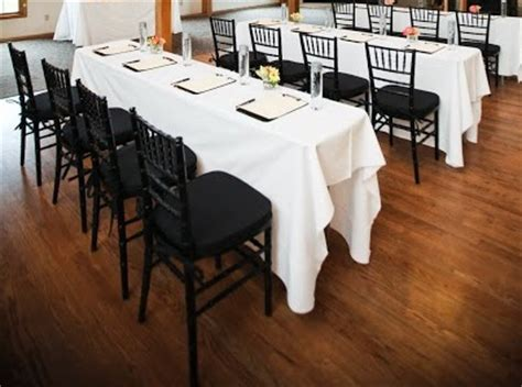 White Cotton Blend ? PS Event Rentals