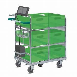 Le multipick trolley assure une grande mobilite wanzl for Mise en place chariot femme de chambre