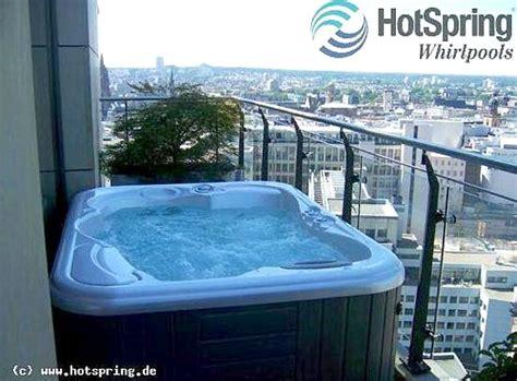 Pool Für Balkon by Outdoor Whirlpool Vielleicht Praktischer Als Ein