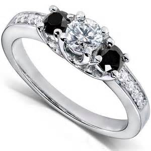 black wedding rings with diamonds black engagement rings slideshow