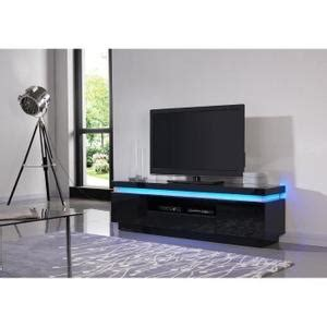 meuble tv laque noir pas cher meuble tv noir led achat vente meuble tv noir led pas cher cdiscount