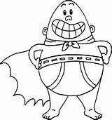 Underpants Captain Coloring Pages Drawing Easy Printable Colouring Movie Sheets Very Draw Cartoon Mr Krupp America Characters Silhouette Wecoloringpage 003t sketch template