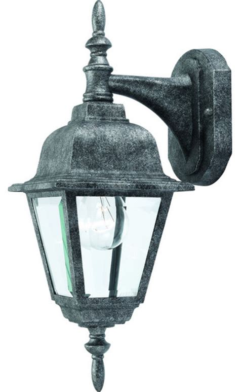 antique silver outdoor patio porch exterior light