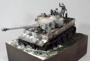 1 35 Scale Military Model Tank Dioramas