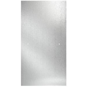 Shower Panels Home Depot - delta 30 in semi frameless contemporary pivot shower door