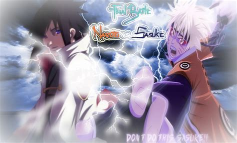 Naruto Vs Sasuke Final Battle By Zetsu180 On Deviantart