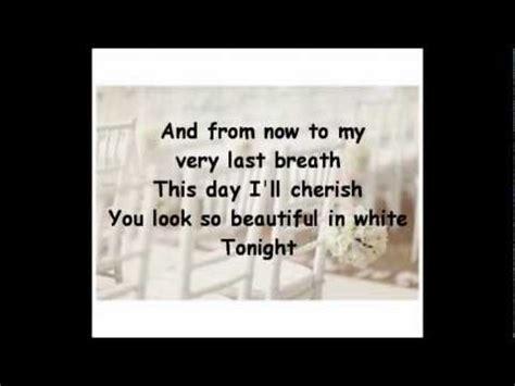 beautiful  white lyrics shane filan youtube