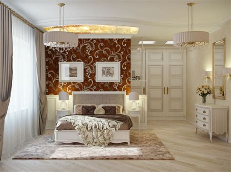 Red Cream Bedroom Decor