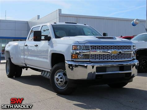 2019 Chevy Silverado 3500hd Work Truck 4x4 Truck For Sale