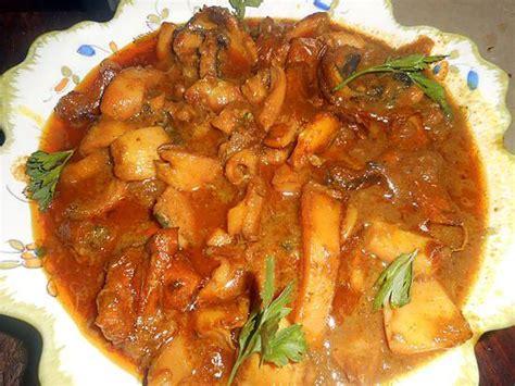 cuisiner la seche recette de seiche au curry