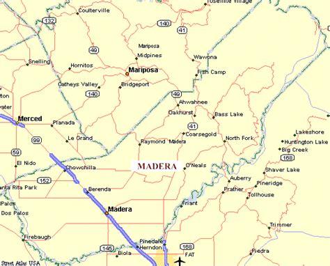 depot bureau madera county california genweb map