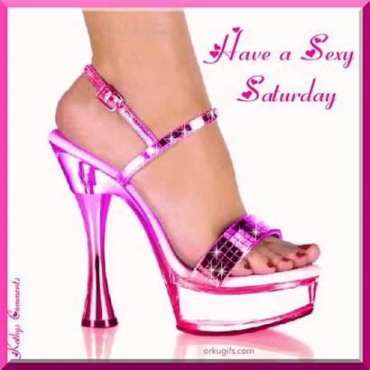 Saturday Heels Heel Shoe Sandals Graphics Glitter