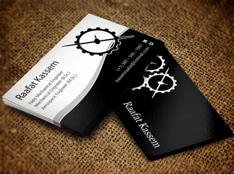59 Elegant Modern Engineering Business Card Designs For A How Do You Duplicate A Business Card In Word Designing Your Own Photoshop French Translation Action Avery Template For Indesign What Size To Edit Steve Jobs