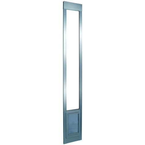ideal pet products vinyl pet patio door ideal pet 15 in x 20 in large white aluminum pet