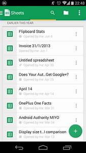 google docs and sheets get big updates with new ui With google docs sheets app