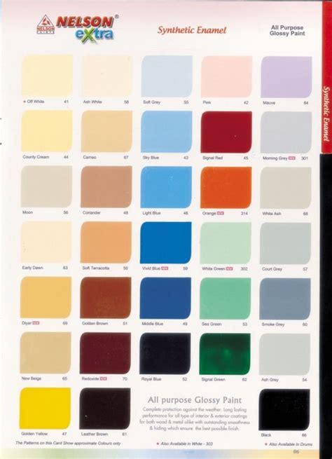 paint color chart pdf home painting