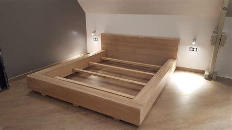 fabriquer un valet de chambre fabriquer un lit sur mesure avec nos panneaux en chêne