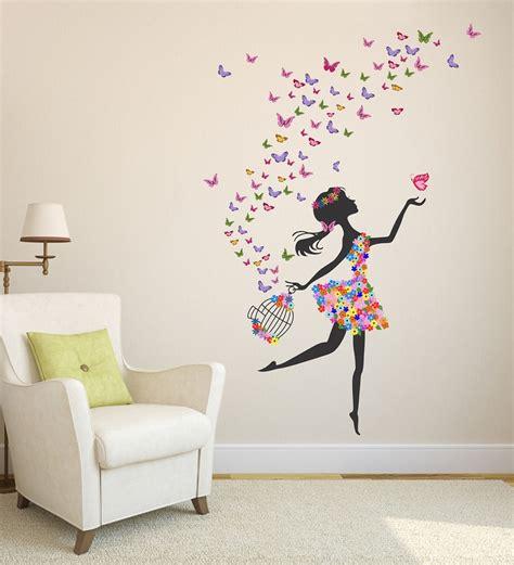 buy pvc vinyl dreamy girl  flying colourful