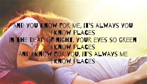 Listen to unrequited love (other clichés) by breakup shoes, 2,221 shazams. Taylor Swift - I Know Places | Taylor swift songs, Country lyrics, Music quotes