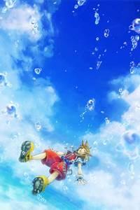 KH ソラのイラスト【キングダムハーツ】 by 海月のゲームイラストブログ