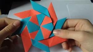 Basteln Aus Papier : ninja stern aus papier basteln eine anleitung youtube ~ A.2002-acura-tl-radio.info Haus und Dekorationen