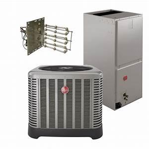 Rheem 15 Seer 3 Ton Heat Pump System - 2 5 Ton