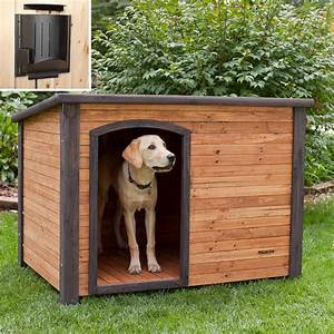 Diy dog house for beginner ideas for Dog house kits for large dogs