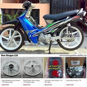 Daftar Harga Sparepart Suzuki New Shogun 110 R