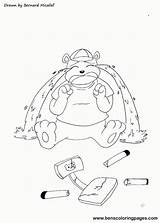 Goldilocks Coloring Bears Three Pages Crying Bear Baby Popular Library Clipart Clip sketch template