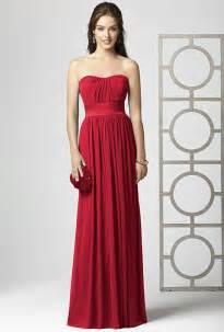 crimson bridesmaid dresses bridesmaid dresses brides