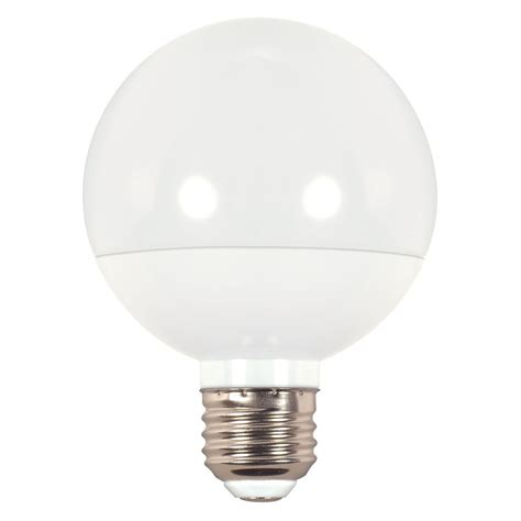 frosted g25 led globe light bulb 6 watts