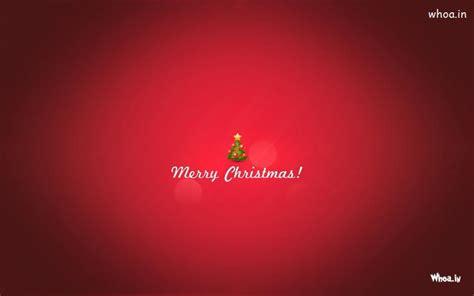 merry christmas plain red hd wallpaper