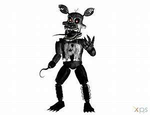 XNA - FNAF - Metallic Nightmare Foxy Retexture by XNA ...