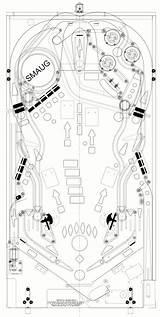 Playfield Flipper Flipperautomat Carnival Automaten Scheme Playfields Spieldesign Murmelmaschine Holzspiele Karnevalsspiele Kaugummiautomaten Pinballnews Steampunk Captur Melis Piero Stern sketch template