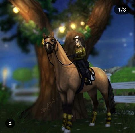 sso ydris fanart horse stable star horses hunt seat riding