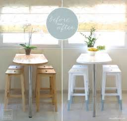 creative storage ideas for small kitchens mini kitchen makeover paint dipped ikea chairs ikea