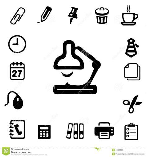 icones de bureau gratuites icônes de silhouette de bureau illustration stock image