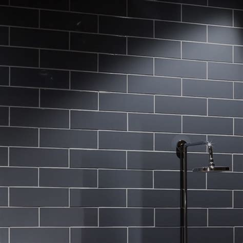 Matt Or Gloss Bathroom Tiles by Gloss White Ripple Wall Tille Western Distributors