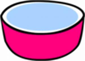 Pink Water Bowl For Dog Clip Art at Clker.com - vector ...