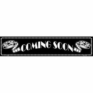 Smart Blonde ST-090 Coming Soon Home Theater Metal Novelty ...