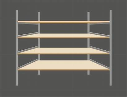 Pantry Clip Empty Shelves Illustrations Vector Graphics