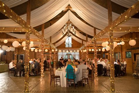 Elegant Rustic Wedding Reception In Virginia