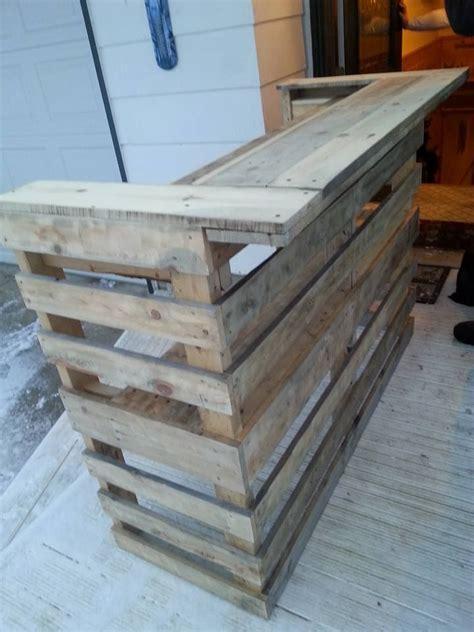 diy pallet bar wooden pallet bar pallet bar wooden