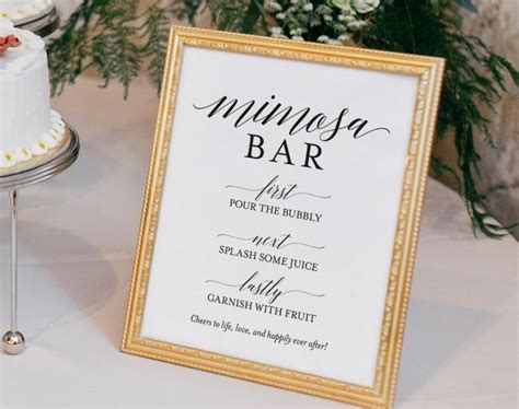 Mimosa Bar Printable, Mimosa Bar Sign, Bubbly Sign, Bridal Shower Ideas, Bridal Shower Sign Wedding Ring Bearer Crown Tumblr Registry Guidelines Red Congratulations Quotes Night.tumblr Dress Flash Foto
