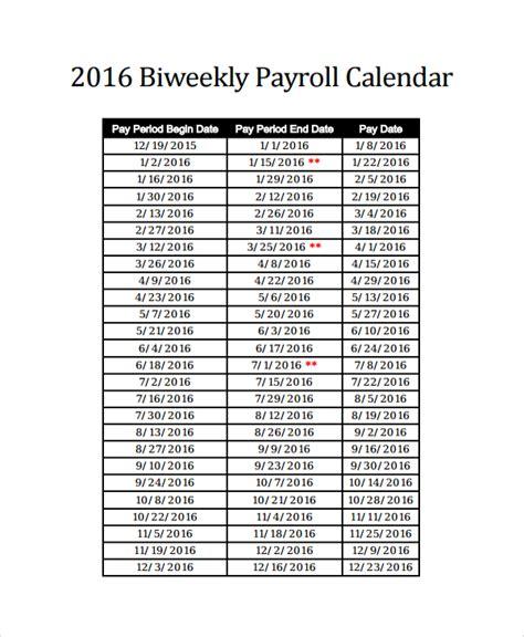 2017 payroll calendar template 2016 bi weekly payroll calendar sles calendar template 2018
