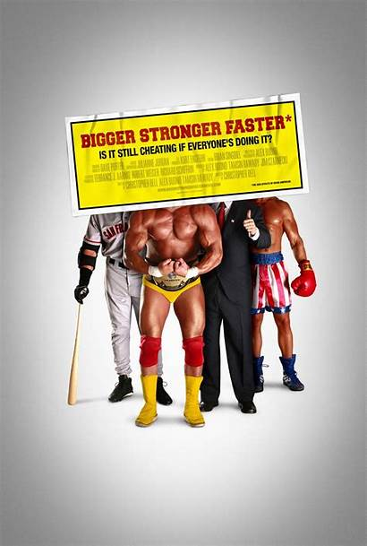 Stronger Bigger Faster Poster 2008 Documentary Posters